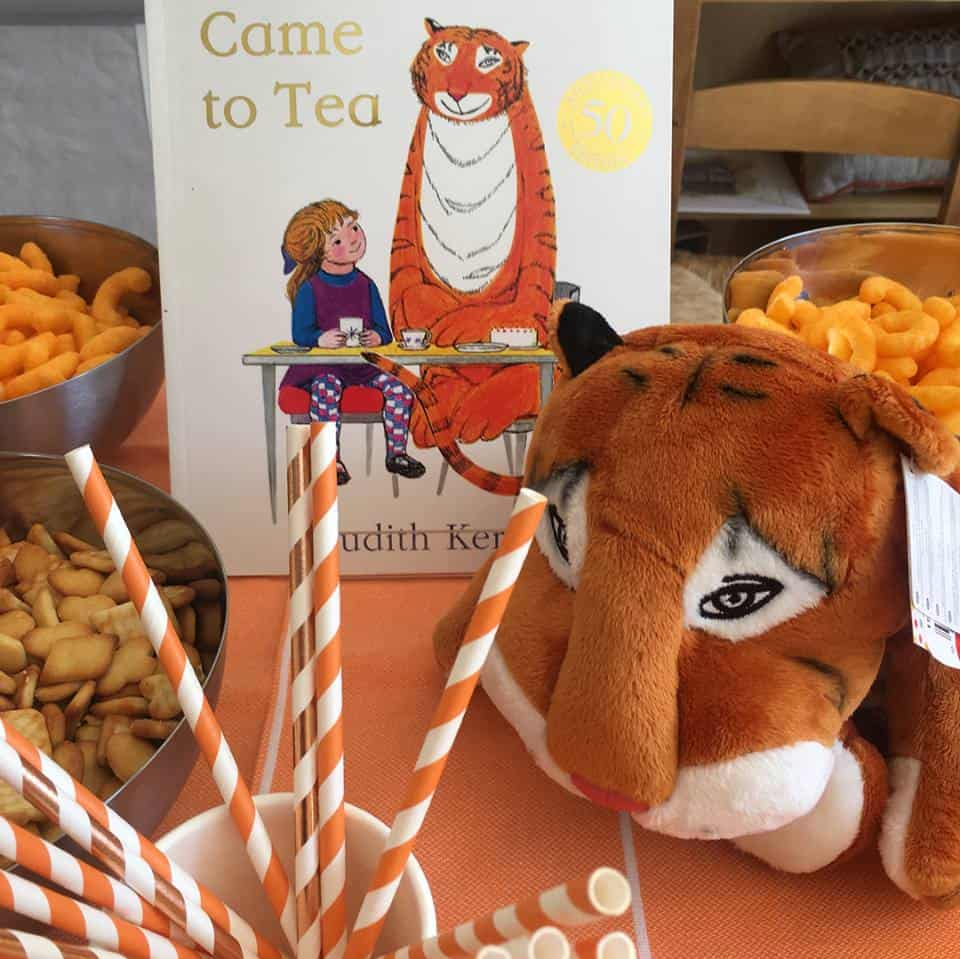 Tiger who came to tea party