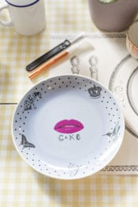 Upcycled vintage crockery workshop