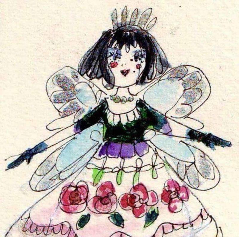 Christmas fairy painting workshop