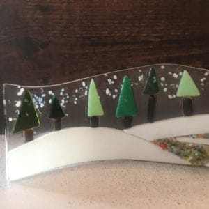 Christmas glass fusion workshop