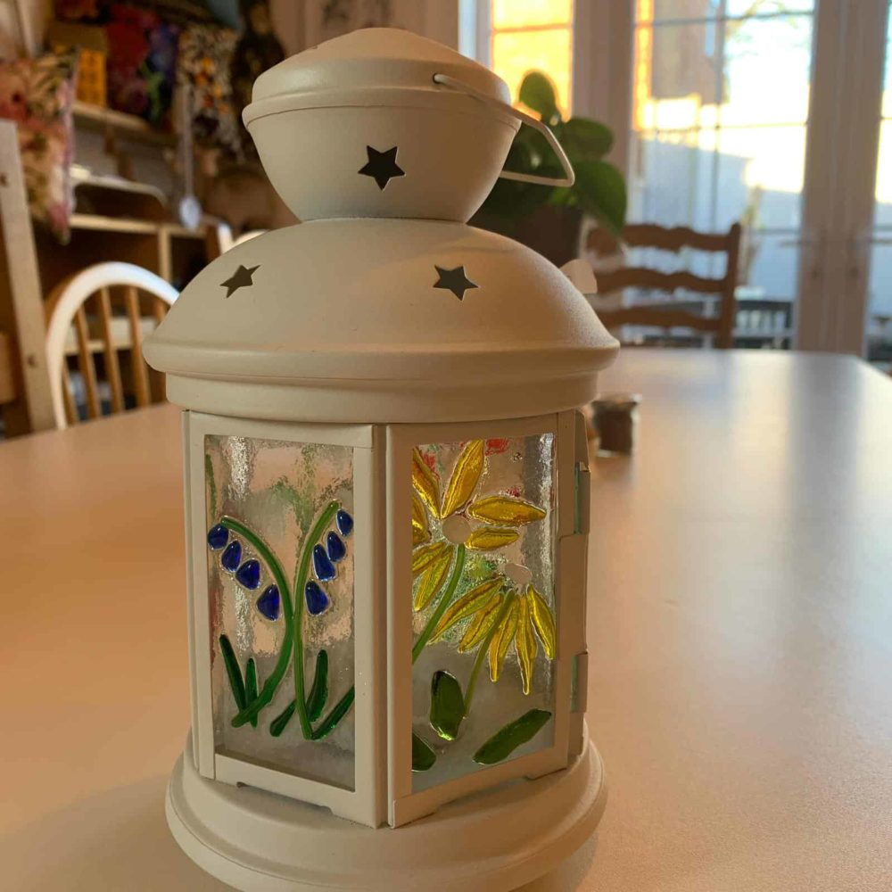 Glass lantern workshop