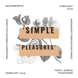 Sketchbook Challenge - simple pleasures