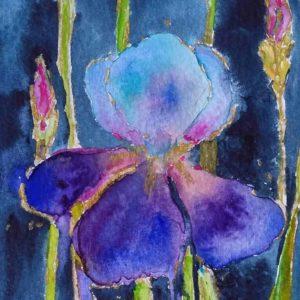 Flowers art workshop