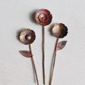 Copper Flowers workshop
