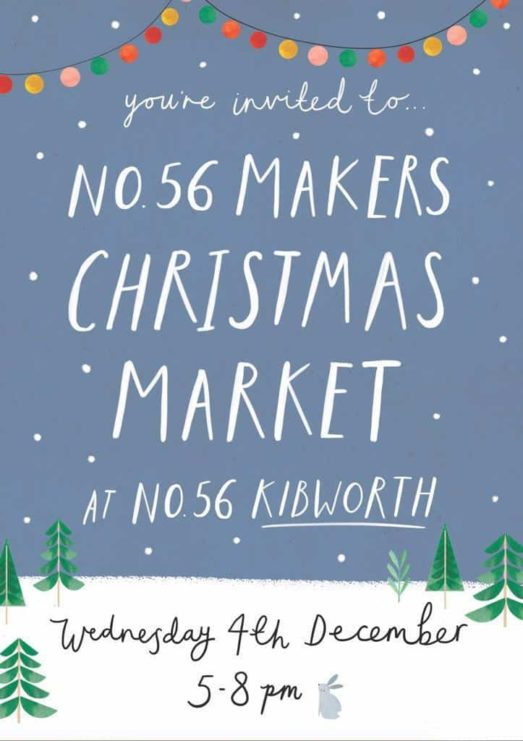 Christmas Market in Leicestershire Flyer
