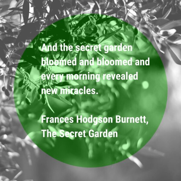 Quote from The Secret Garden book